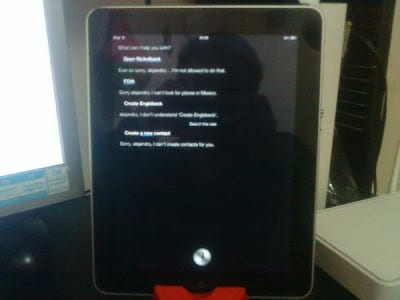 instaled Siri On iPad 2
