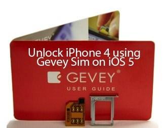 Gevey sim 4.11.08 Unlock