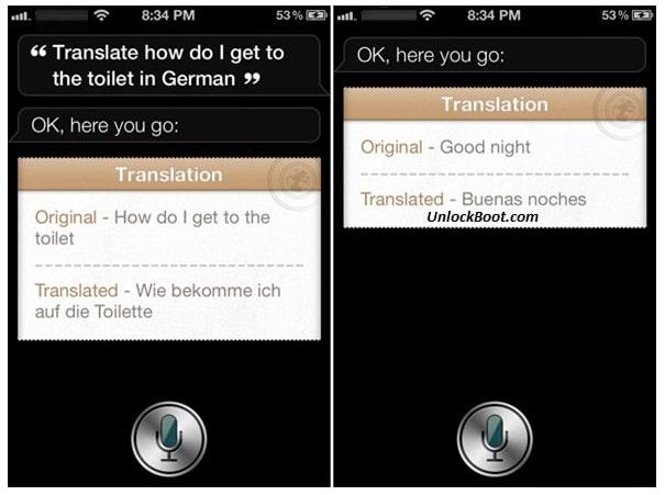 Use Siri to Translate Languages