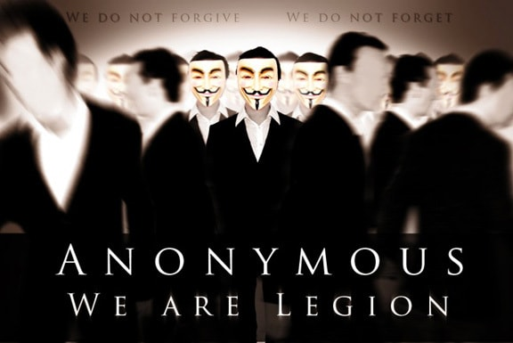 Anonymous Hackers Arested