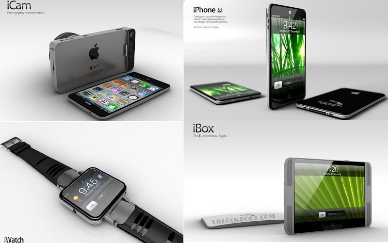 Apple products in 2012