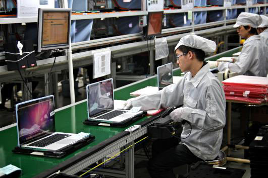 Apple Products Assembled at Foxconn