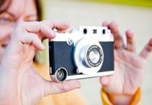 Rangefinder iPhone camera