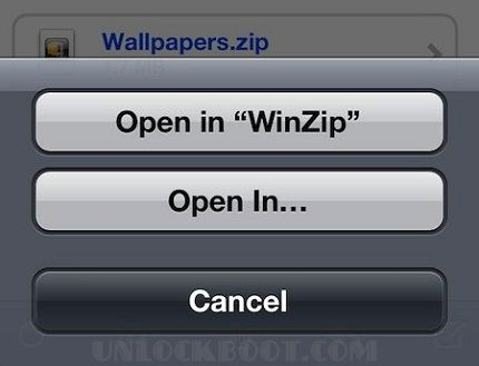 Download WinZip for iPhone