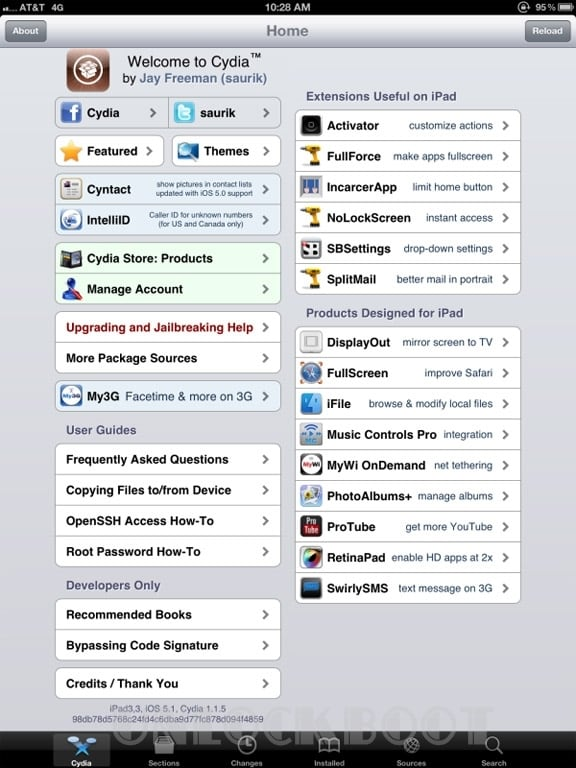 Untethered Jailbreak iOS 5.1 on New iPad