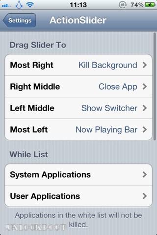 Install ActionSlider