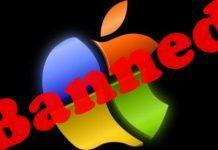 apple and windows logo