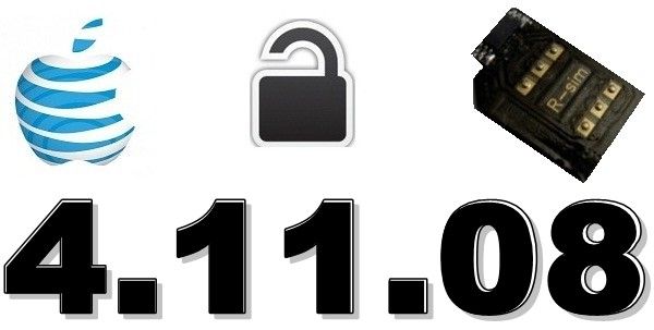 iPhone 4 baseband 4.11.08 Unlock