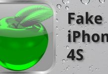Fake iPhone S