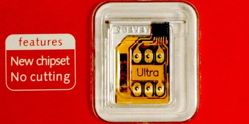 Gevey sim Unlock 4.12.01