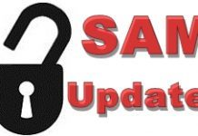 SAM Unlock Update