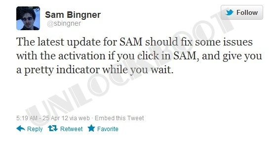 Sam tool Updated