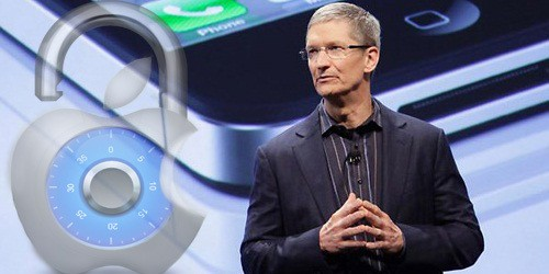 Unlock iPhone Tim Cook