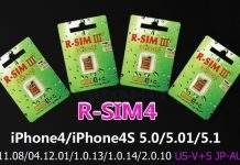 iPhone unlock R SIM