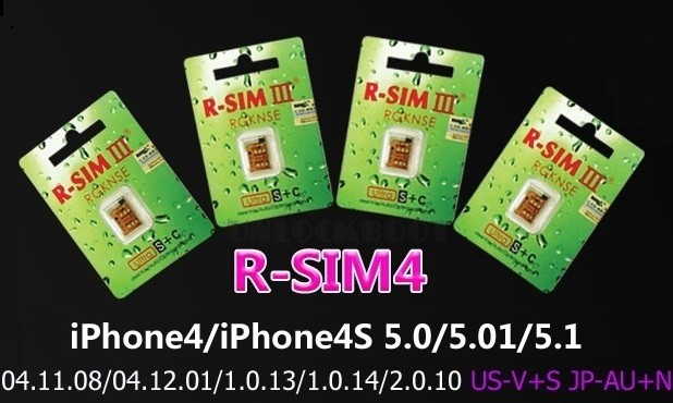 How to Unlock iPhone 4 with R-SIM 4