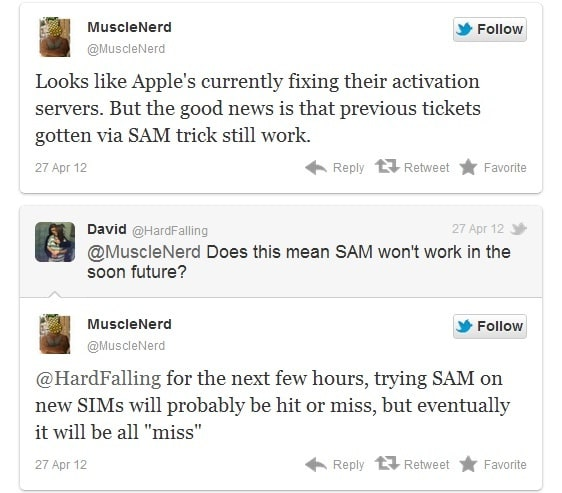 Apple Fix Activation Servers