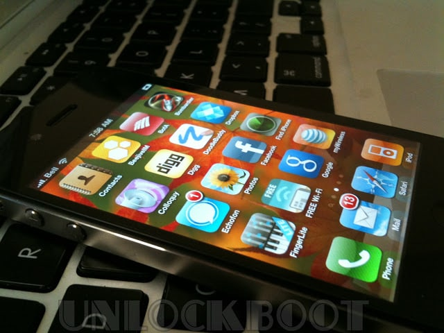 SAM Unlock iPhone 4 baseband 4.11.08