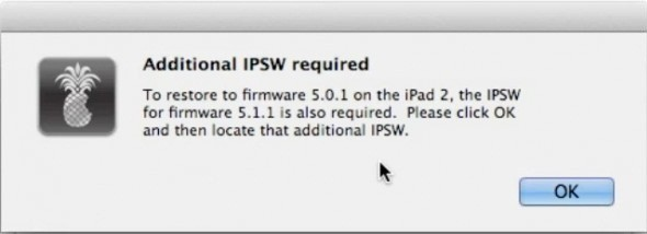 iOS 5.1 custom firmware