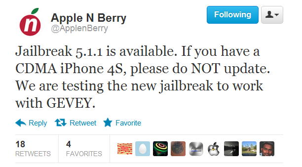 Unlock CDMA iPhone 4S 5.1.1 baseband 2.0.12