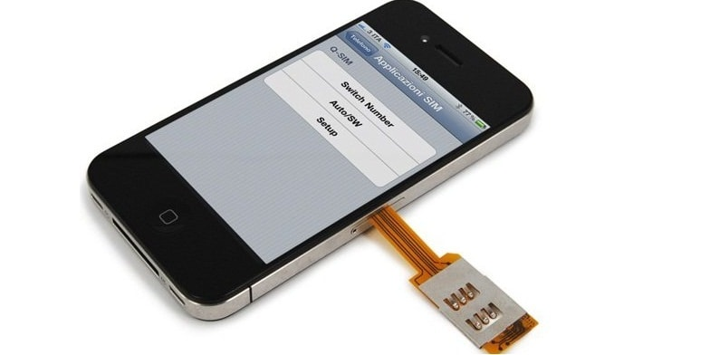 Dual Sim Adapter for iPhone