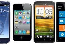 galaxy s iphone s one Lumia