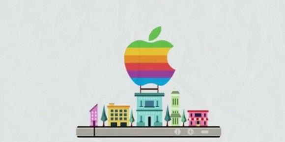 Apple iPhone 3D city