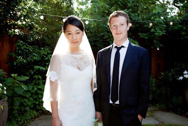 Mark Zuckerberg married Priscilla Chan