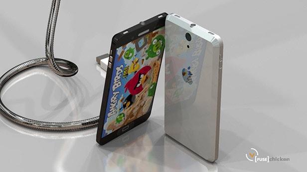 LiquidMetal iPhone 5 case