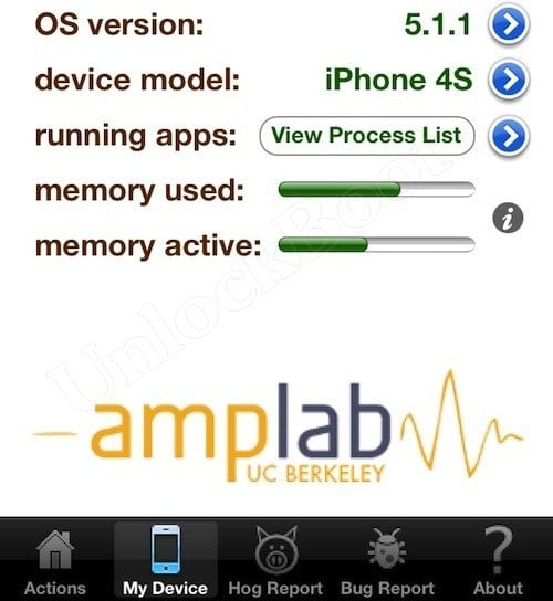 Carat on IOS 5.1.1 improve Battery Life