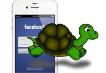 Facebook slow app