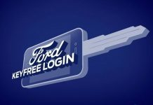 Ford keyfree login logo