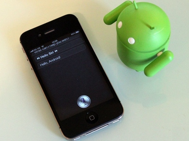 Android VS Siri