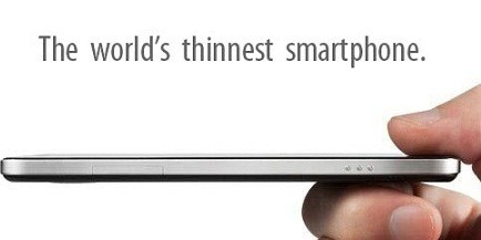 Thinnest smartphone in the world