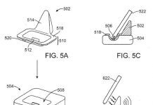 apple patent wireless charging dock