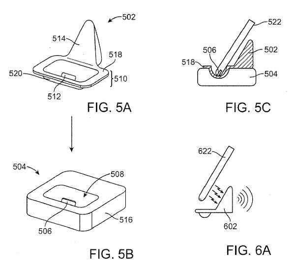 apple wireless charging patent