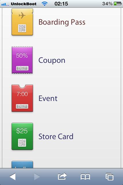 Install Passbook on ios 6