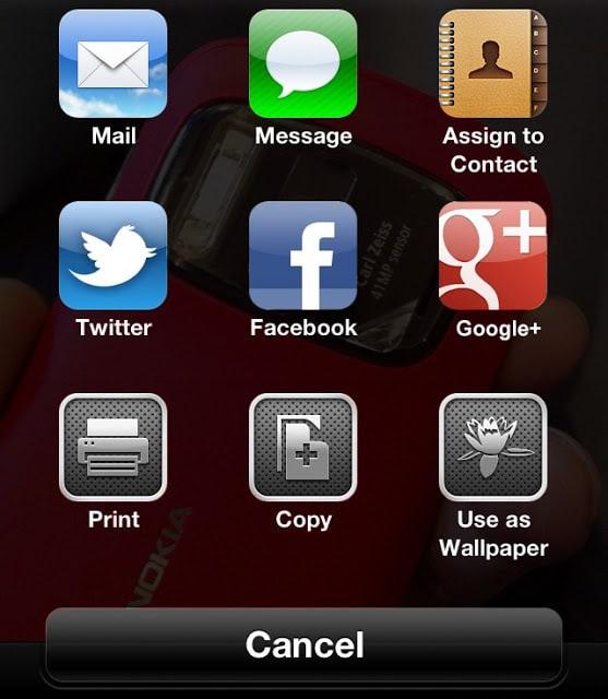 iOS 6 Photo Menu Install guide