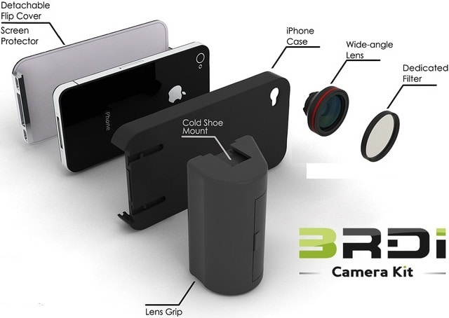 3RDi Camera Kit for iPhone 4s / 4