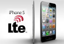LTE G iPhone