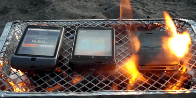 iPhone 4S Burn