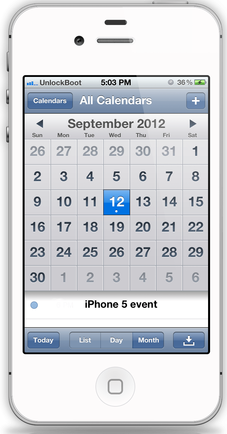 iMore: iPhone 5 event planned for September 12, launch on ...