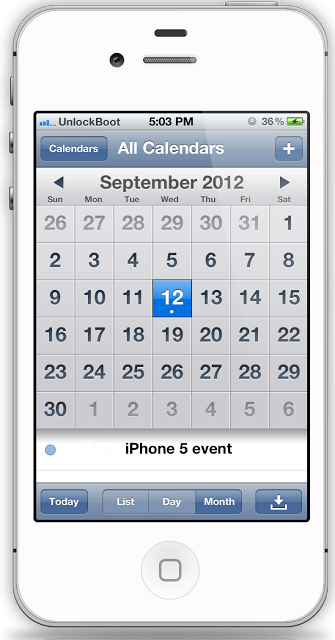 iPhone 5 release date september 21