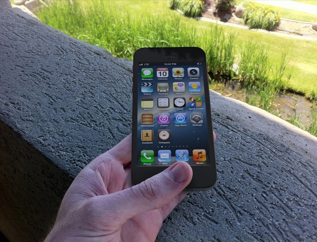 iPhone 5 with LTE 4G