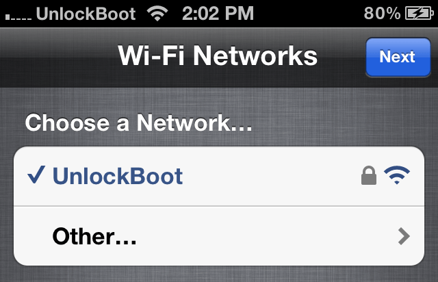 Activate iPhone with WI-FI
