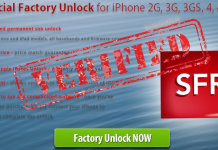 factory unlock sfr iphone