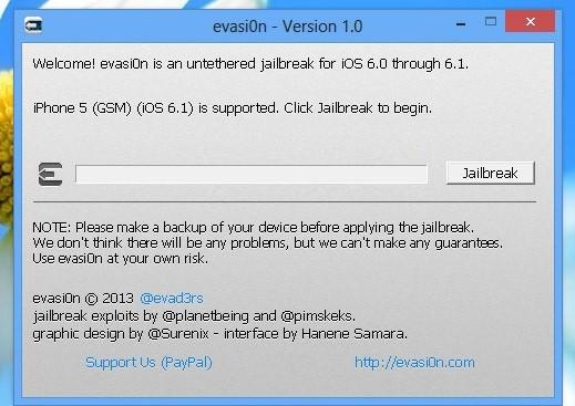 jailbreak ios 6.1.6