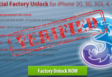 Unlock iPhone three uk