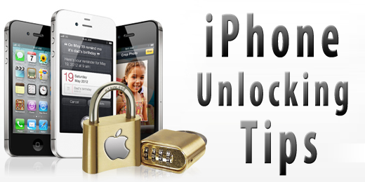 Unlock iPhone tips