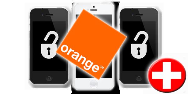 Unlock Orange Switzerland iPhone
