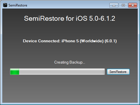 Semi Restore iphone